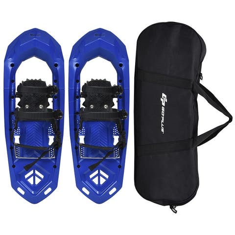 Goplus 25inch Lightweight All Terrain Snowshoes Men Women Bag Anti