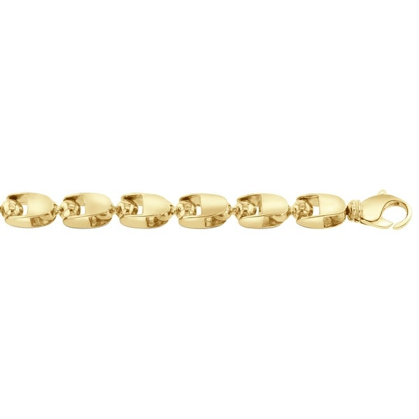 Men's 10K Gold 16 inch link chain