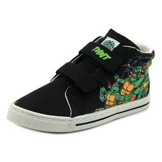Disney Teenge Mutant Ninja Turtles High Top Youth Synthetic Black Sneakers