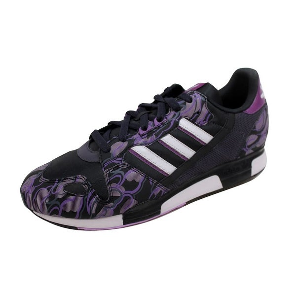 Adidas Men's ZX 800 Black/Purple-White 661271 Size 11.5