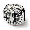 Sterling Silver Reflections Owl Head Bead (4mm Diameter Hole) - Thumbnail 0