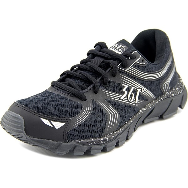361 Wildstar Women Black/Silver Running Shoes