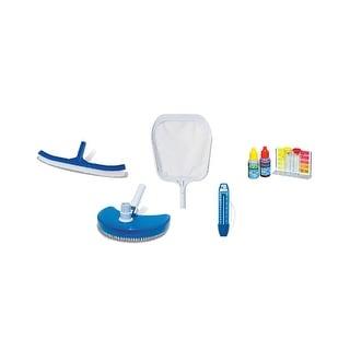 Basic Vinyl Swimming Pool Maintenance Kit - Blue