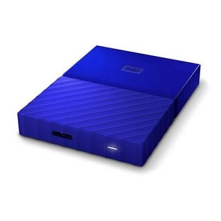 Wd Content Solutions Business - Wdbyft0040bbl-Wesn - 4Tb My Passport Portable Blue