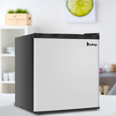 ZOKOP 31.1L/1.1CU.FT Stainless Steel Upright Mini Freezer