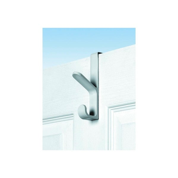"Spectrum Wh 5-1/2"" Over Door Hook"