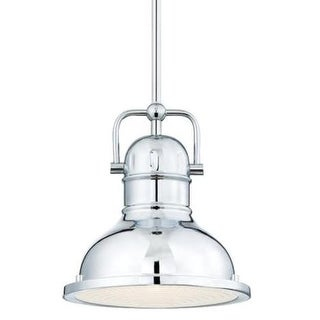 """Westinghouse 63085A Boswell 11"""" Wide Single Light Single LED Pendant with Metal Shade"""