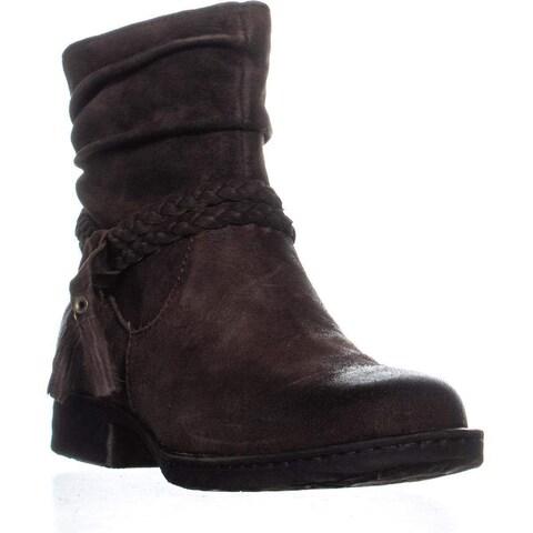 B.O.C Womens Ouvea Leather Closed Toe Mid-Calf Fashion Boots - 8.5