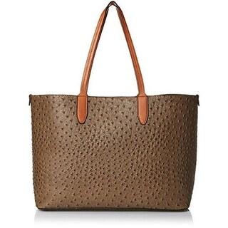 Emilie M. Womens Rebecca Tote Handbag - Olive - Large