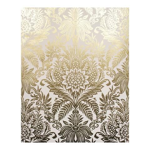 Bernadette Gold Damask Wallpaper - 20.5 x 396 x 0.025