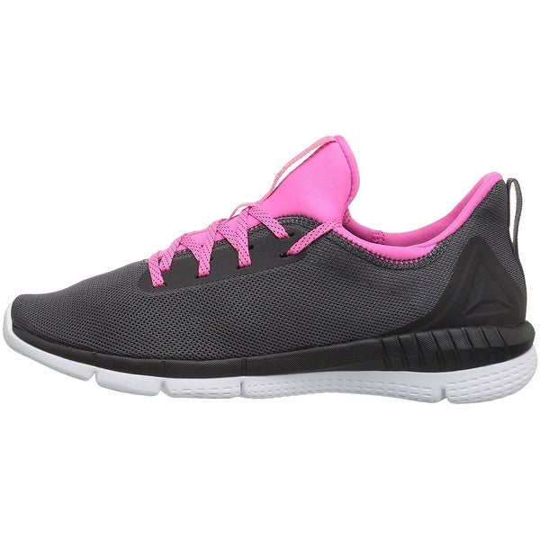 Shop Reebok Womens print her 2.0 Low Top Lace Up Running Sneaker - 6 ... 8fc243175