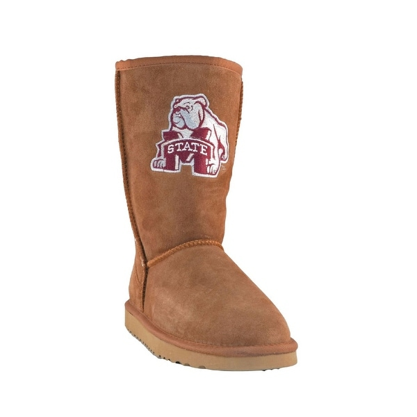 Gameday Boots Womens Mississippi State Roadie Hickory MSU-RL1053-1