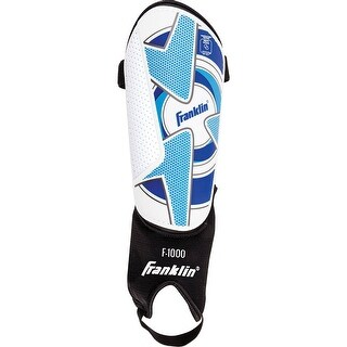 Franklin 30070F4 Adult Tournament Shin Guard w/ Abrasion Resistant Cover