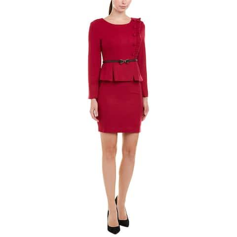 Vogue Va Wool-Blend Sheath Dress
