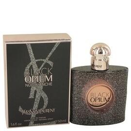 Eau De Parfum Spray 1.7 oz Black Opium Nuit Blanche by Yves Saint Laurent - Women