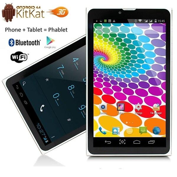 "Indigi® 7.0"" 3G Unlocked 2-in-1 DualSIM SmartPhone + TabletPC Android 4.4 KitKat w/ WiFi + Bluetooth Sync"