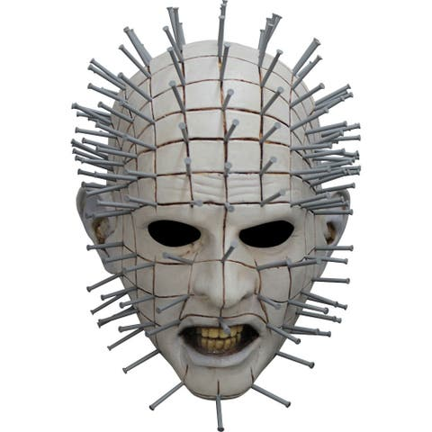 Adult Hellraiser III Pinhead Halloween Mask - Standard - One Size