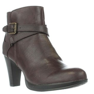 Rialto Pamela Platform Booties - Brown