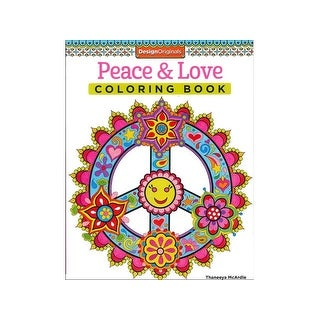 Design Originals Peace & Love Coloring Bk