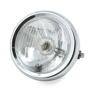 16cm Dia Warm White Round Motorcycle Headlight Head Lamp Blub DC 12V for GN125