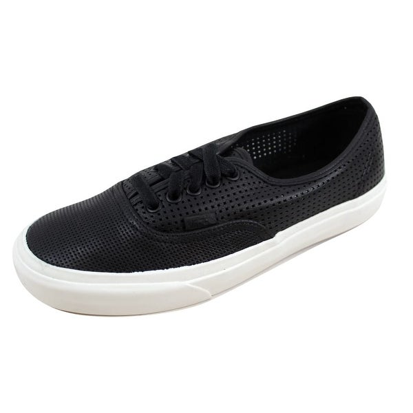 Shop Vans Men s Authentic DX Square Perf Black VN0A38ESIUZ - On Sale ... 30a3345a2