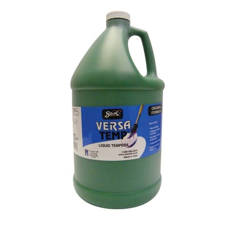 Sax Versatemp Heavy-Bodied Tempera Paint, Green, Gallon