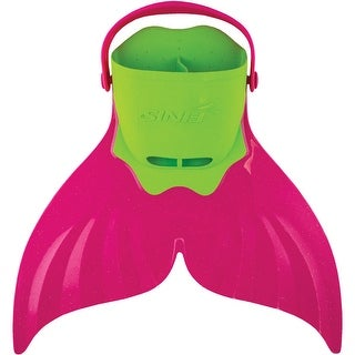 FINIS Kid's Mermaid Adjustable Recreational Monofin - Pacifica Pink - One size