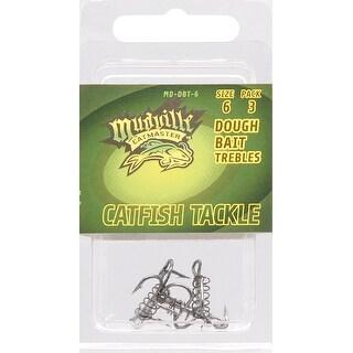 Mudville Catmaster Md Dbt 6 Dough Bait Treble Hook 6