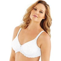 Lilyette® by Bali® Beautiful Support Lace Minimizer® - Size - 40D - Color - White