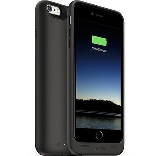 2,600mAh Juice Pack Battery Case For iPhone 6 Plus & 6s Plus by mophie - Black