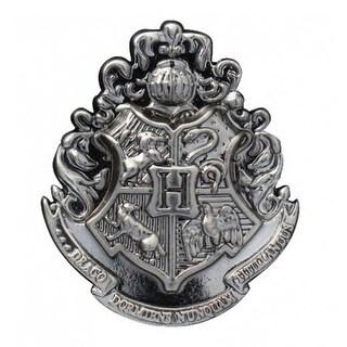 Harry Potter Hogwarts School Crest Pewter Lapel Pin
