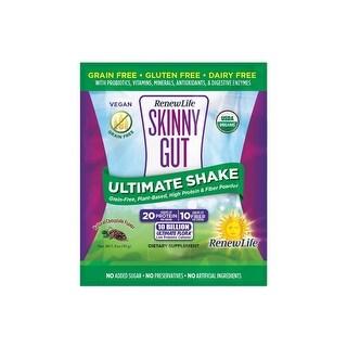 Renew Life Skinny Gut Ultimate Shake Chocolate - 7 Pack