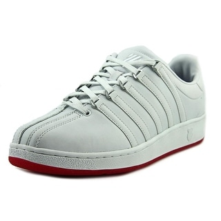 K-Swiss Classic VN Men  Round Toe Leather Red Sneakers