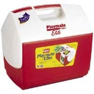 Igloo 00043362 Personal Size Playmate Ice Chest 16 Qt, Red/White