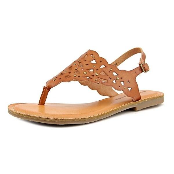 Rock & Candy Breeana Women Open Toe Synthetic Brown Slides Sandal