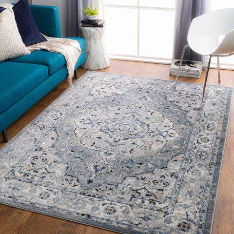 Jayce Traditional Floral Area Rug