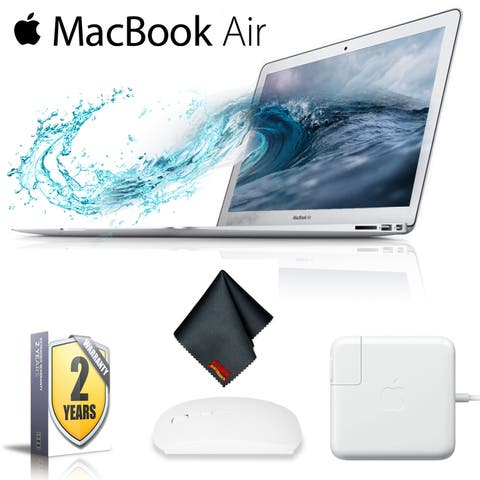 "Apple 13.3"" MacBook Air 128GB SSD (PLUS 2 Year Extended Warranty)"