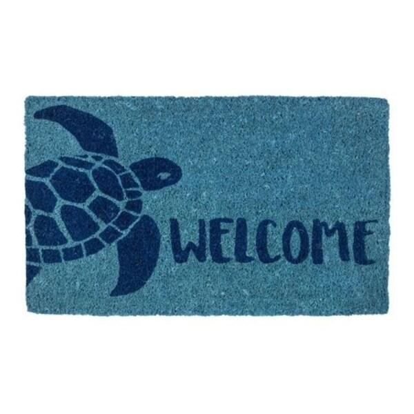 Entryways 2170S Turtle Handwoven Coconut Fiber Doormat