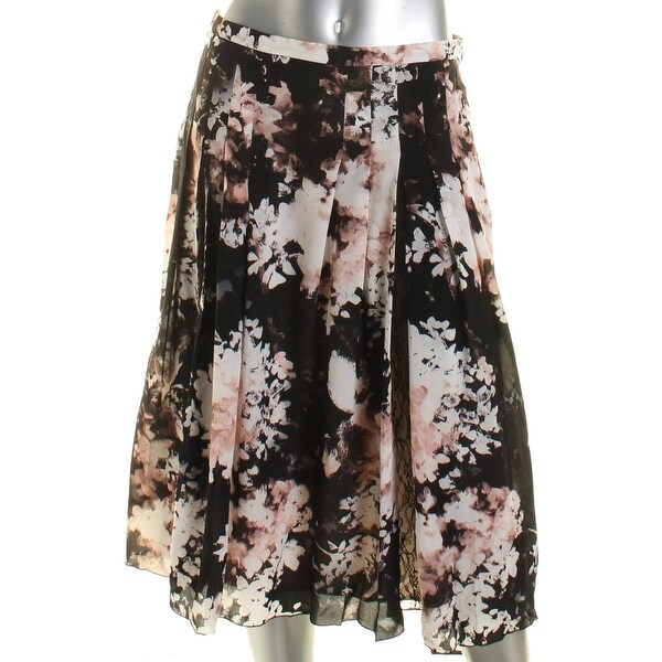 MaxMara Womens A-Line Skirt Silk Pleated - 12