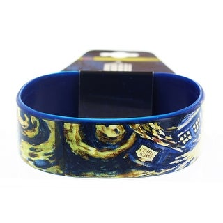 Doctor Who Rubber Wristband Van Gogh Exploding TARDIS - multi