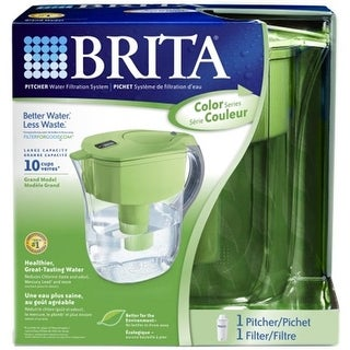 Brita Usa Green Brita Grand Pitcher Water Filtration System 35378