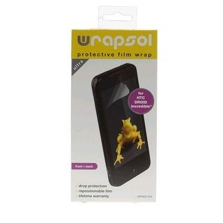 Wrapsol Ultra Drop Scratch Protection Film for HTC 6300 DROID Incredible