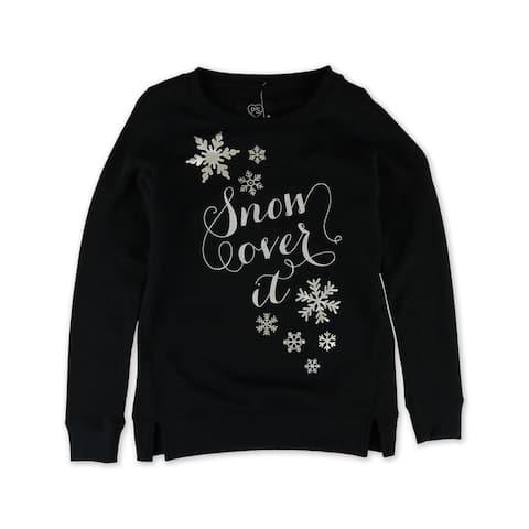 Aeropostale Girls Snow Over It Sweatshirt - XL (14)