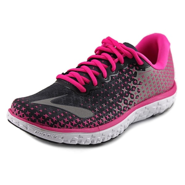 Brooks PureFlow 5 Women  Round Toe Canvas Multi Color Running Shoe