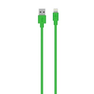 Belkin Apple Certified MIXIT Lightning to USB Cable, 4 Feet (Green)