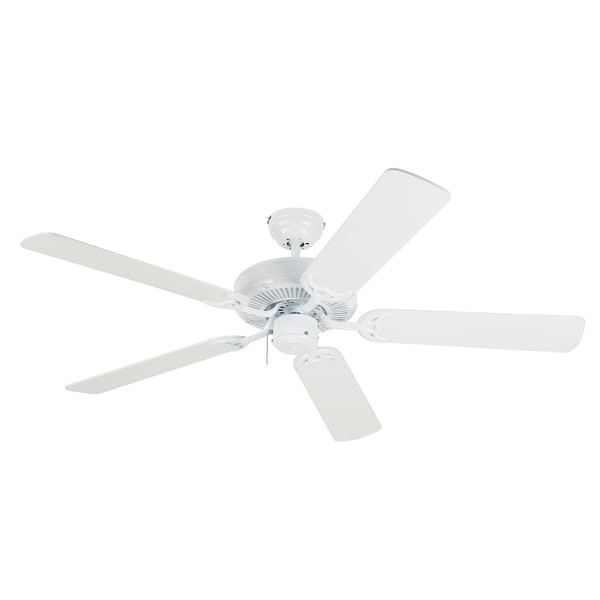 "Westinghouse 78024 Contractors Choice Ceiling Fan, 52"", White"