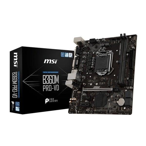 Msi - Components - B360mprovd