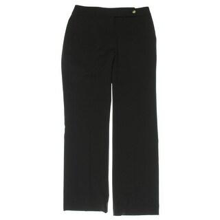 Calvin Klein Womens Petites Dress Pants Woven Classic Fit - 2p