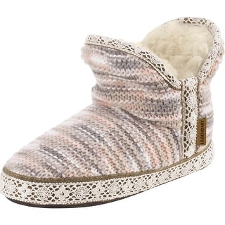 Legendary Whitetails Ladies Cozy Cabin Slipper Booties - multi