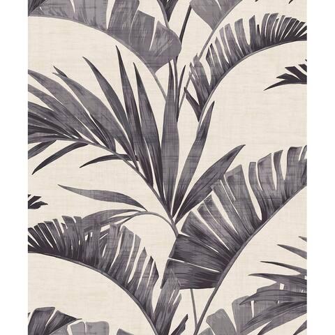 Arthouse Banana Palm Unpasted Non-Woven Wallpaper